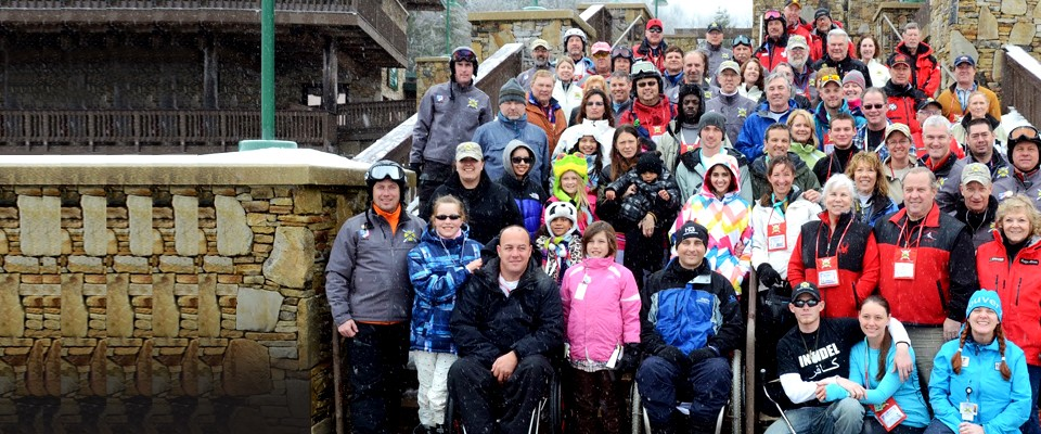 GIVING BACK IS OUR CORE MISSIONThe organization is made up of service veterans and non-veterans alike, all caring people whose common bond is the love of alpine winter sports. And with ONE mission - sharing this 'love' with wounded and disabled service veterans.